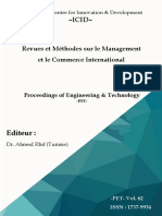 Revues Et Méthodes Sur Le Management Et Le Commerce International