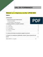 Manual 6654- Ler a imprensa escrita