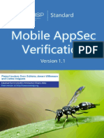 OWASP Mobile AppSec Verification Standard 1.2RC Document