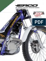 2020 Sherco Shop Manual