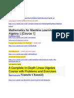 linear algebra in details