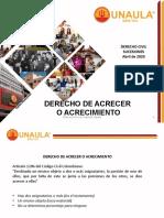 DERECHO DE ACRECER O ACRECIMIENTO
