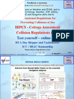 Irpcs Colregs Test Online