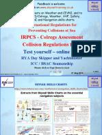Irpcs Colregs Test Online