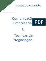 TRABALHO_Comunicação Empresarial e Técnica de Comunicação