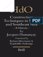 Dumarcay, Construction Techniques in South and South-East Asia (2005)