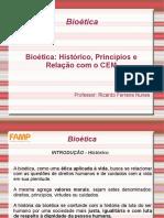 Bioética - Histórico, Principios e CEM