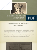PPT Pembangunan dan Lingkungan Chapter 11