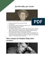 Las siete reglas del estilo