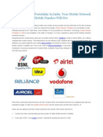 Mobile Network Portability in India