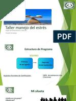 TALLER DE MANEJO DEL ESTRES