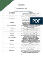 CALENDÁRIO DAS PROVAS 2020.1 - GRADUAÇÃO EaD E SEMIPRESENCIAL