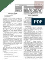 Resolución Ministerial N° 137-2020-PRODUCE