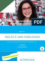 Workshop simplificando o inglês PDF aulas 1 e 2