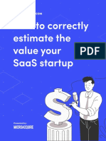 How to Value Your SaaS Startup