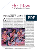 MARINA N. BOLOTNIKOVA, (Harvard article) - The Language of Emotion