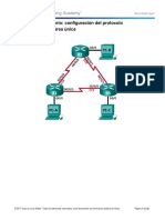 P#7-8.2.4.5 Lab - Configuring Basic Single-Area OSPFv2