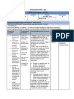 PlanificaciónTecnología 1°Medio-UNIDAD 4 2019