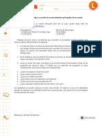 RECORDAR ACONTECIMIENTOS PRINCIPALES DE UN CUENTO