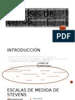 ANÁLISIS DE DATOS I