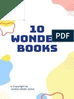 10 WONDER BOOKS go