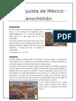 La conquista de México - Tenochtitlán.docx