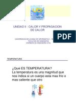 UNIDAD II CALOR