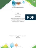 informe química inorgánica