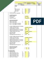 Column Design Sheet - Short Column