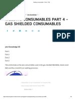 FCAW Consumables - Part 4 - TWI