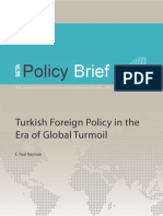 Policy Brief No 39 Turkish Foreign Policy in the Era of Global Turmoil Keyman