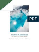 Presion Hidrosatica Informe