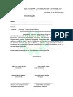 OFICIO DE DEPORTE