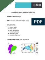 CUENCA HIDROGRAFICA (RIO TIGRE- TRABAJO FINAL)