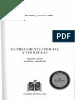 El precedente judicial y sus reglas