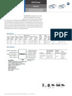 Advance Xitanium 36W 1.0A Downlight LED Driver with SimpleSet (1% DIM) Datasheet XI036C100V054DSM1 & XI036C100V054DSM5 (PAd-1602DS).pdf