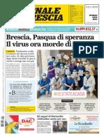 Giornale Di Brescia 12 Aprile 2020
