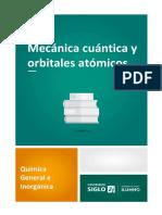 Mecánica cuántica y orbitales atómicos