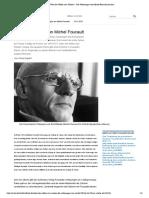 _Über den Willen zum Wissen_ - Die Vorlesungen von Michel Foucault (Archiv)