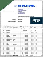 Manual Eléctrico de multivac b610