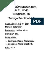 T.P. N°2 - Inclusion Educativa