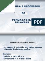 estruturaeformaodaspalavras-110320151038-phpapp02