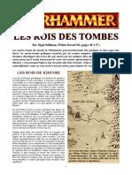 WFB5 - Liste d' Armee - rois-des-tombes (wd58) + rg_les parchemins (WD 66)