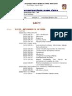 03 Normas de Construccion en Obra Civil - Urbanización y Caminos