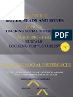 BRICK,BEADS AND BONES (Tracking social differences)PPT