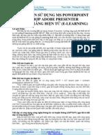 Huong Dan Ket Hop Adobe Presenter Voi MS Power Point