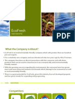 EcoFresh - Digital Marketing Plan