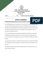 assignment april grade4-english