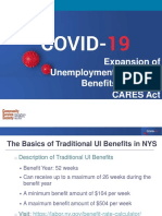Presentation on Unemployment Benefits