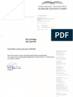 Ariana-Leilani Bayreuth Klinilum Prof. Dr. med. Stefan Kelin - Chief Oncology